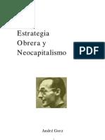 Andre Gorz - Estrategia Obrera Y Neocapitalismo Espanhol
