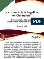 Presentación Cultura de la Legalidad