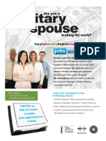 FFSC_Military Spouse Employment Recruiting