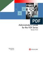 Vsx Series Admin Guide