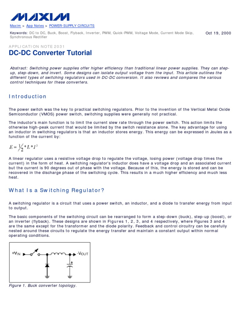 An 2031 Rectifier Power Supply Mosfet Output Switching Regulator Circuitin Integrated Circuits