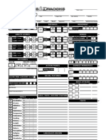 4E Character Sheet Automated