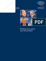 World Economic Forum - Annual Report 2002/2003