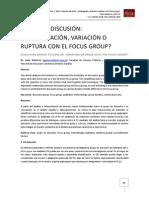 Gutierrez. Grupo de Discusión
