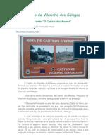 """Castro de Vilarinho Dos Galegos, """"Castelo dos Mouros"""" MOGADOURO, Trás-os-Montes"""