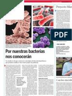 Por nuestras bacterias nos conocerán