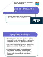 AGREGADOS - GRANULOMETRIA