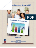 2011 TASB Employee Survey Results