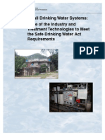 EPA, Small Drinking Water Systems, 2005