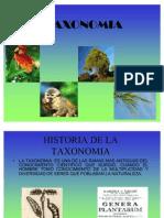 PRESENTACION TAXONOMIA 2011