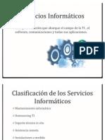 servicios informáticos