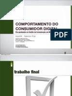 Comportamento de Consumo - Aula 6/6 - Exercício Final