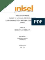 School's Role in Moulding Discipline