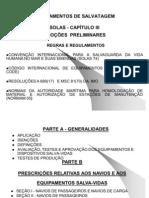 A-Equipamentos de Salvatagem SOLAS Cap. III