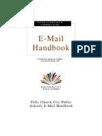 FCCPS E-mail Handbook 2011