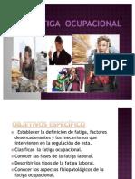 Salud Ocupacional - Fatiga Ocupacional