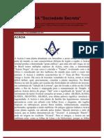 MAÇONARIA Sociedade Secreta
