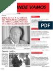 """Mensuario """"A Donde Vamos"""", Agosto 2011"""