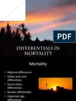 Differentials in Mortality