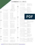 Guia de Horarios 2011-2 UNI FIM