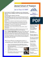 Year_5_Newsletter Start of Year 2011