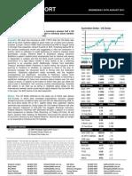 Australian Dollar Outlook 24 August 2011