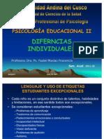 II Unidad Diferencias Individuales.[1]