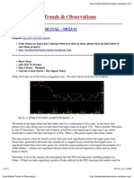 Stock Market Trends & Observations 08/23/11