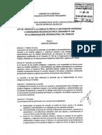 Ley de Consulta Aprobada 23-08-2011