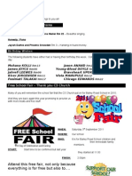 Newsletter 2011 24 August