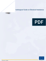 EC Methodological Guide on Electoral Assistance
