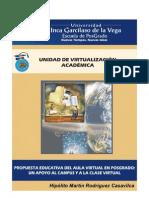 Propuesta Educativa del Aula Virtual en Posgrado
