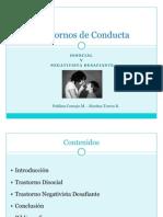 Trastornos de Conducta Disocial & Negativista Desafiante