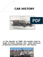 The Car History