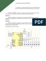 Lista de exercícios microcontroladores I
