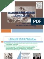 Modelo Humanista de La Educacion