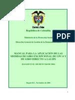 Giros Directos - Manual
