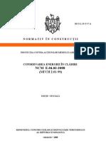 9119 Lista Documentelor Normative in Constructii 01-01-2011
