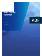 Asia Pacific Taxation 2010 Cambodia