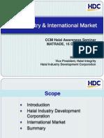Halal Industry & International Market