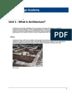 ADA 2011 Pre-Architecture Revit