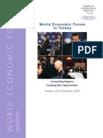 World Economic Forum in Turkey 2006