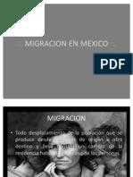 Emigracion en Mexico Fffff