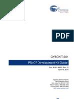 CY8CKIT-001 PSoC Development Kit Guide