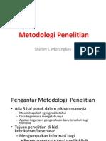 01 Pengantar Metodologi Penelitian