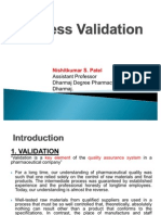 Process Validation Nishit