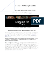 Philosophy and Plan of Action