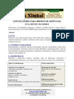 Convocatoria Revista (PAZ, Inter Cult, DeMOCRAC)2011