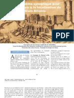 Notes et schéma synoptique pour tenter de servir à la localisation du Castrum Allionis (Denis Briand)