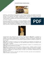 CONCEPTOS DE PASTELERIA